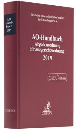 Abbildung von AO-Handbuch 2019 | 2019 | Abgabenordnung, Finanzgerichts...