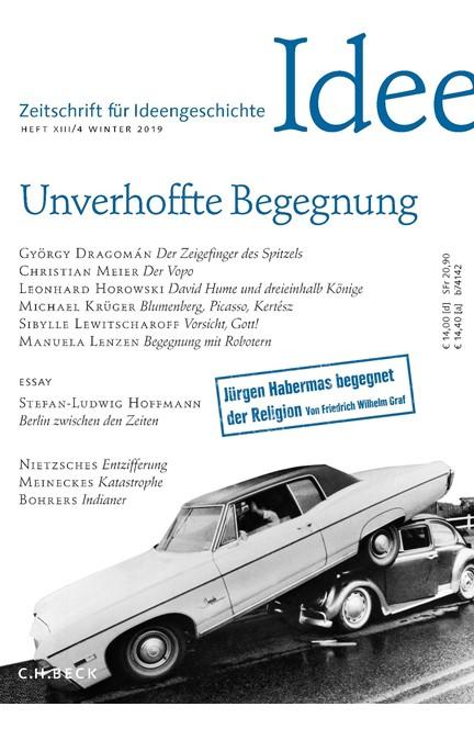 Cover: , Zeitschrift für Ideengeschichte Heft XIII/4 Winter 2019