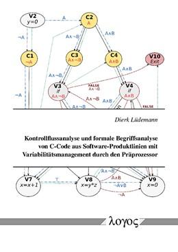 Abbildung von Lüdemann | Kontrollflussanalyse und formale Begriffsanalyse von C-Code aus Software-Produktlinien mit Variabilitätsmanagement durch den Präprozessor | 1. Auflage | 2018 | beck-shop.de