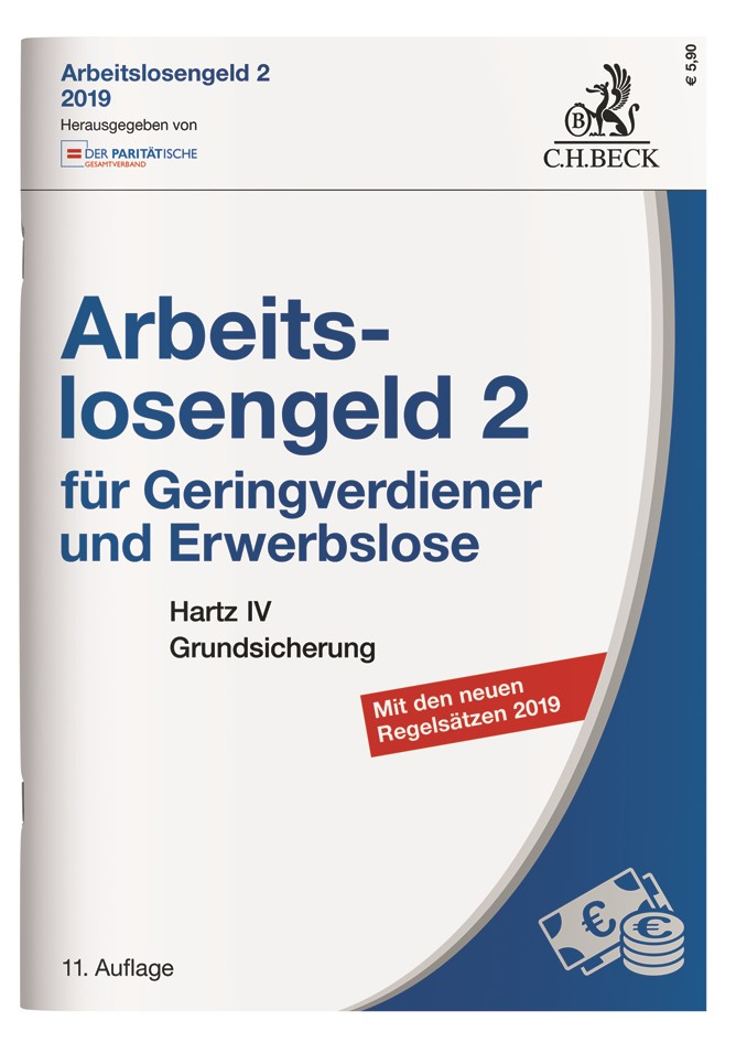 Arbeitslosengeld 2 für Geringverdiener und Erwerbslose | 11. Auflage, 2019 | Buch (Cover)
