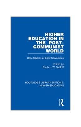 Abbildung von Sabloff   Higher Education in the Post-Communist World   1. Auflage   2018   23   beck-shop.de