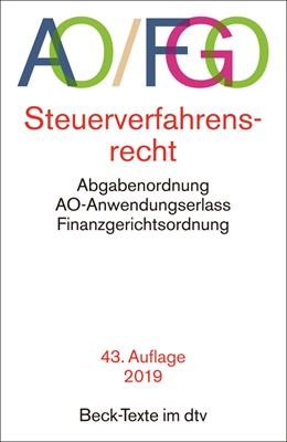 Abbildung von Abgabenordnung: AO / FGO | 43. Auflage | 2019 | Steuerverfahrensrecht, Abgaben... | 5548