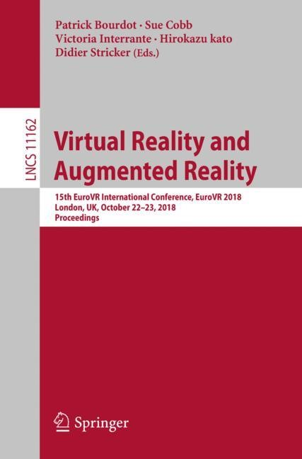Virtual Reality and Augmented Reality | Bourdot / Cobb / Interrante / kato / Stricker | 1st ed. 2018, 2018 | Buch (Cover)