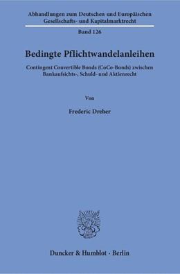 Abbildung von Dreher | Bedingte Pflichtwandelanleihen | 2018 | Contingent Convertible Bonds (... | 126