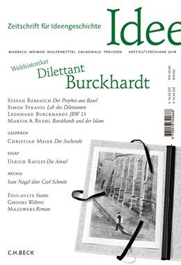 Abbildung von Norton / Rebenich | Zeitschrift für Ideengeschichte Heft XII/1 Frühjahr 2018 | 1. Auflage | 2018 | beck-shop.de