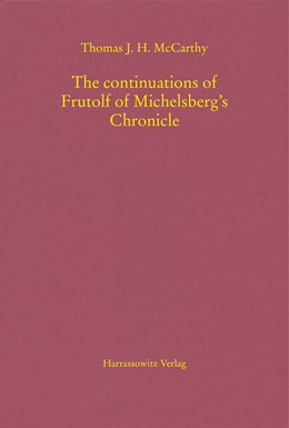 Abbildung von McCarthy | The continuations of Frutolf of Michelsberg's Chronicle | 2018