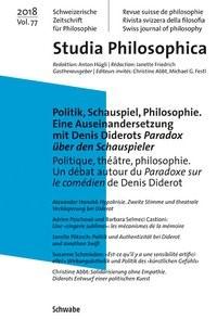 Abbildung von Abbt / Festl | Politik, Schauspiel, Philosophie. Eine Auseinandersetzung mit Denis Diderots Paradox über den Schauspieler | 2018