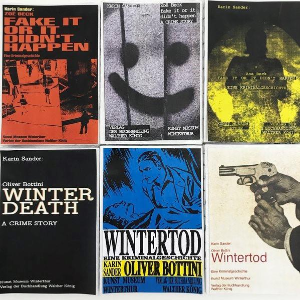 Karin Sander. Band 1: Oliver Bottini - Wintertod. Eine Kriminalgeschichte / Winter Death. A Crime Story | Bottini, 2018 | Buch (Cover)