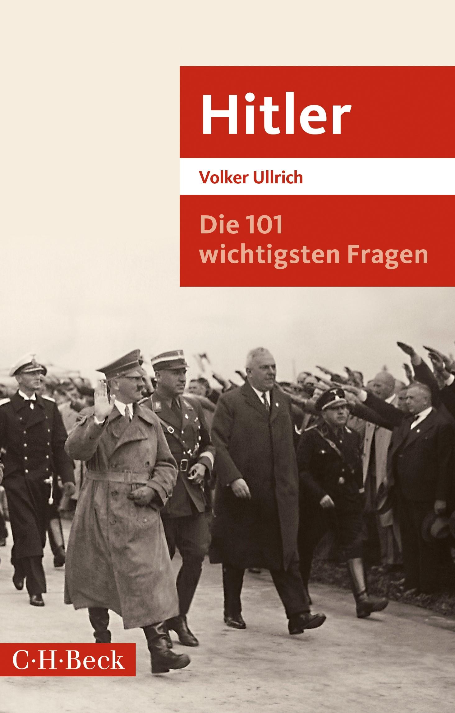 Die 101 wichtigsten Fragen: Hitler | Ullrich, Volker, 2019 | Buch (Cover)