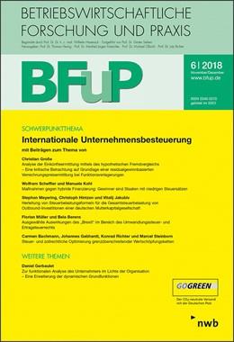 Abbildung von Internationale Unternehmensbesteuerung | 1. Auflage | 2018 | beck-shop.de