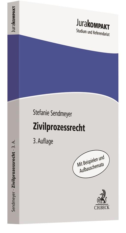 Zivilprozessrecht | Sendmeyer | 3. Auflage, 2019 | Buch (Cover)