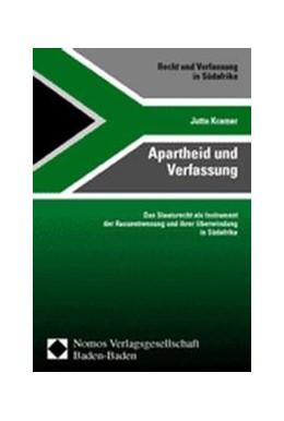 Abbildung von Kramer   Apartheid und Verfassung   2000   Das Staatsrecht als Instrument...   12