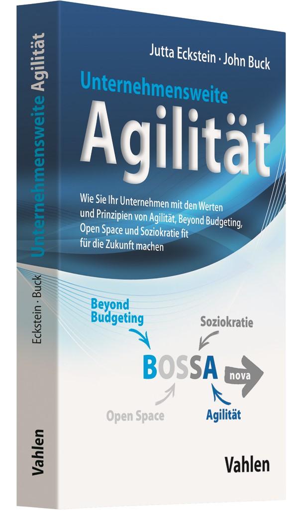 Unternehmensweite Agilität | Eckstein / Buck, 2019 | Buch (Cover)