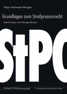Abbildung von Hartmann-Wergen | Grundlagen zum Strafprozessrecht | 9. Auflage | 2018 | beck-shop.de