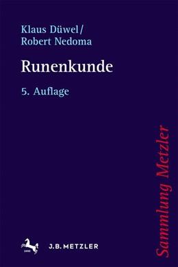 Abbildung von Düwel / Nedoma | Runenkunde | 5. Auflage | 2021 | beck-shop.de