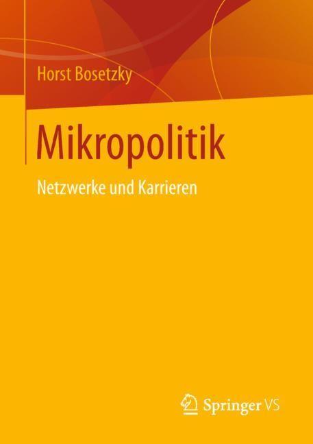 Mikropolitik | Bosetzky, 2018 | Buch (Cover)