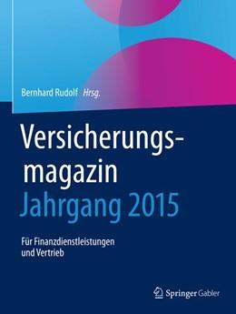Abbildung von Rudolf   Versicherungsmagazin - Jahrgang 2015   1. Auflage   2018   beck-shop.de