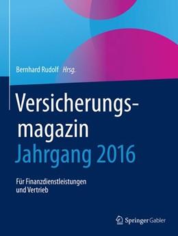 Abbildung von Rudolf | Versicherungsmagazin - Jahrgang 2016 | 1. Auflage | 2019 | beck-shop.de