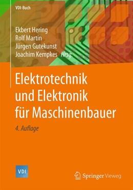 Abbildung von Hering / Martin   Elektrotechnik und Elektronik für Maschinenbauer   4. Auflage   2018   beck-shop.de
