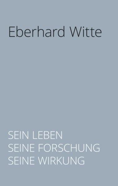 Abbildung von Dowling / Kretschmer   Eberhard Witte   2018