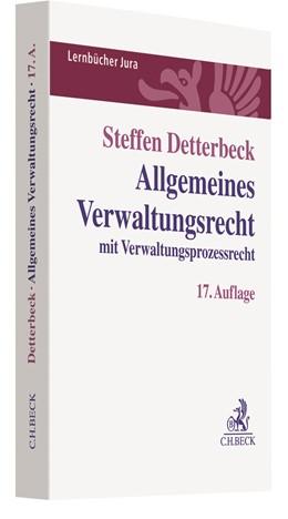 Abbildung von Detterbeck   Allgemeines Verwaltungsrecht   17. Auflage   2019   mit Verwaltungsprozessrecht