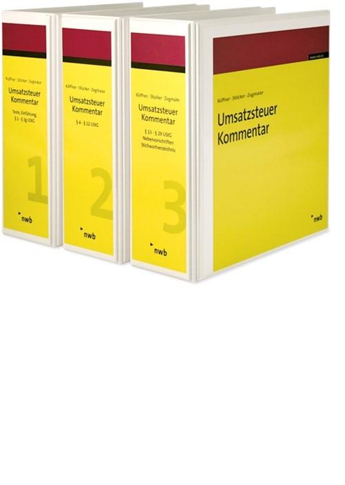 Umsatzsteuer-Kommentar - ohne Aktualisierungsservice | Küffner / Stöcker / Zugmaier | Loseblattwerk mit 141. Aktualisierung (Cover)