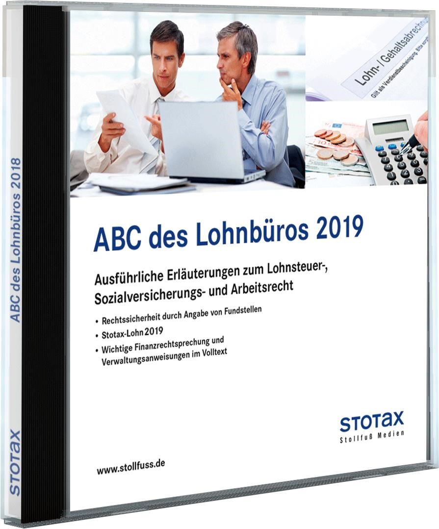 ABC des Lohnbüros 2019 – DVD/Online | Edition 2019, 2019 (Cover)