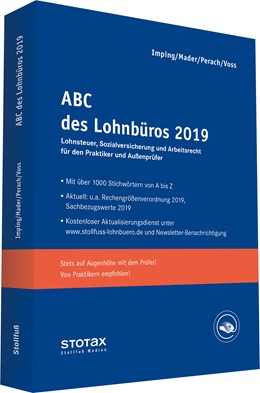 Abbildung von Mader / Perach / Voss / Imping | ABC des Lohnbüros 2019 | 2019 | Lohn- und Gehaltsabrechnung 20...