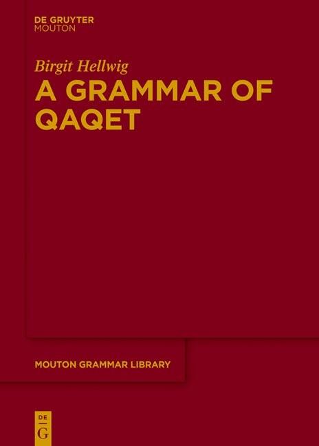 A Grammar Qaqet, 2018 | Buch (Cover)
