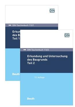 Abbildung von Erkundung und Untersuchung des Baugrunds | 13. Auflage | 2018 | 113/1 und 113/2 | beck-shop.de