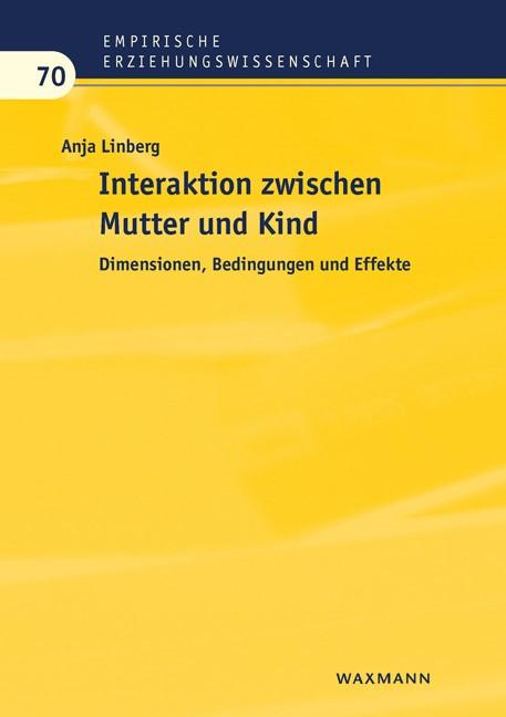 Interaktion zwischen Mutter und Kind | Linberg, 2018 | Buch (Cover)