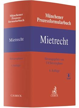 Abbildung von Münchener Prozessformularbuch, Band 1: Mietrecht   6. Auflage   2020   Band 1