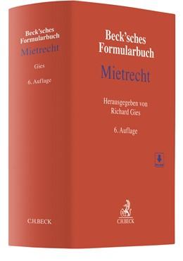 Abbildung von Beck'sches Formularbuch Mietrecht   6. Auflage   2020   beck-shop.de