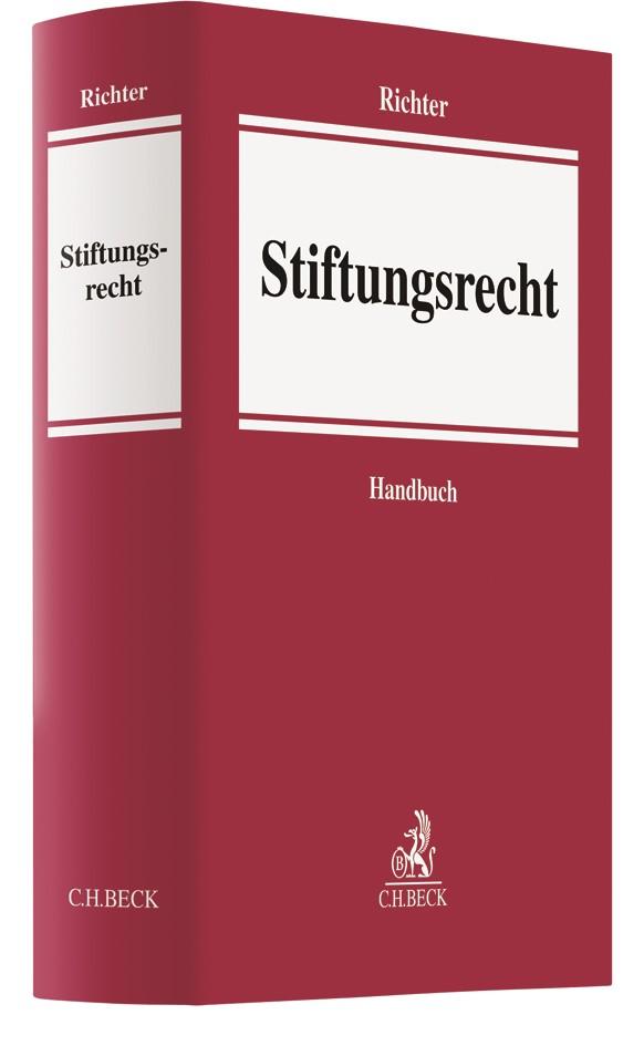 Abbildung von Richter | Stiftungsrecht | 2019