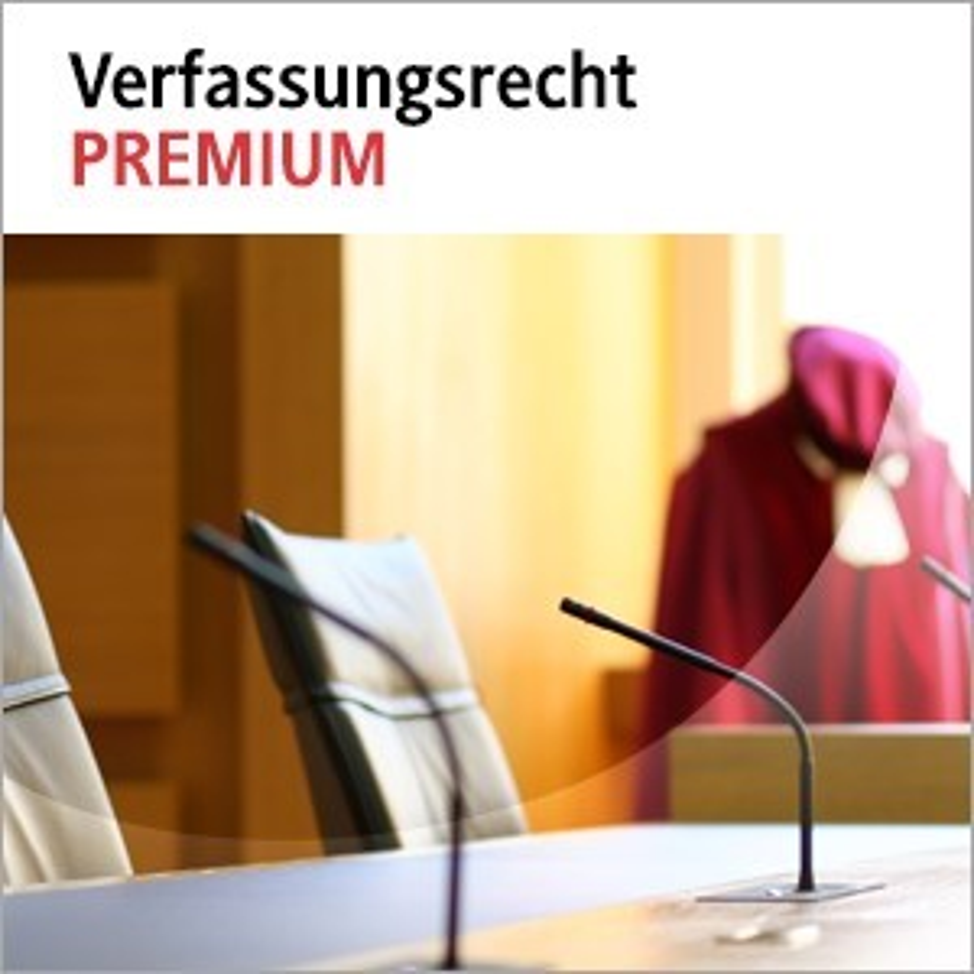 beck-online. Verfassungsrecht PREMIUM, 2018 (Cover)