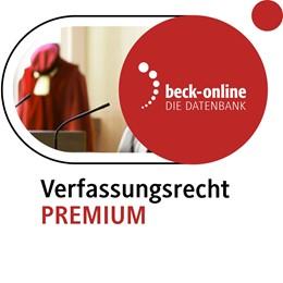 Abbildung von beck-online. Verfassungsrecht PREMIUM   1. Auflage     beck-shop.de