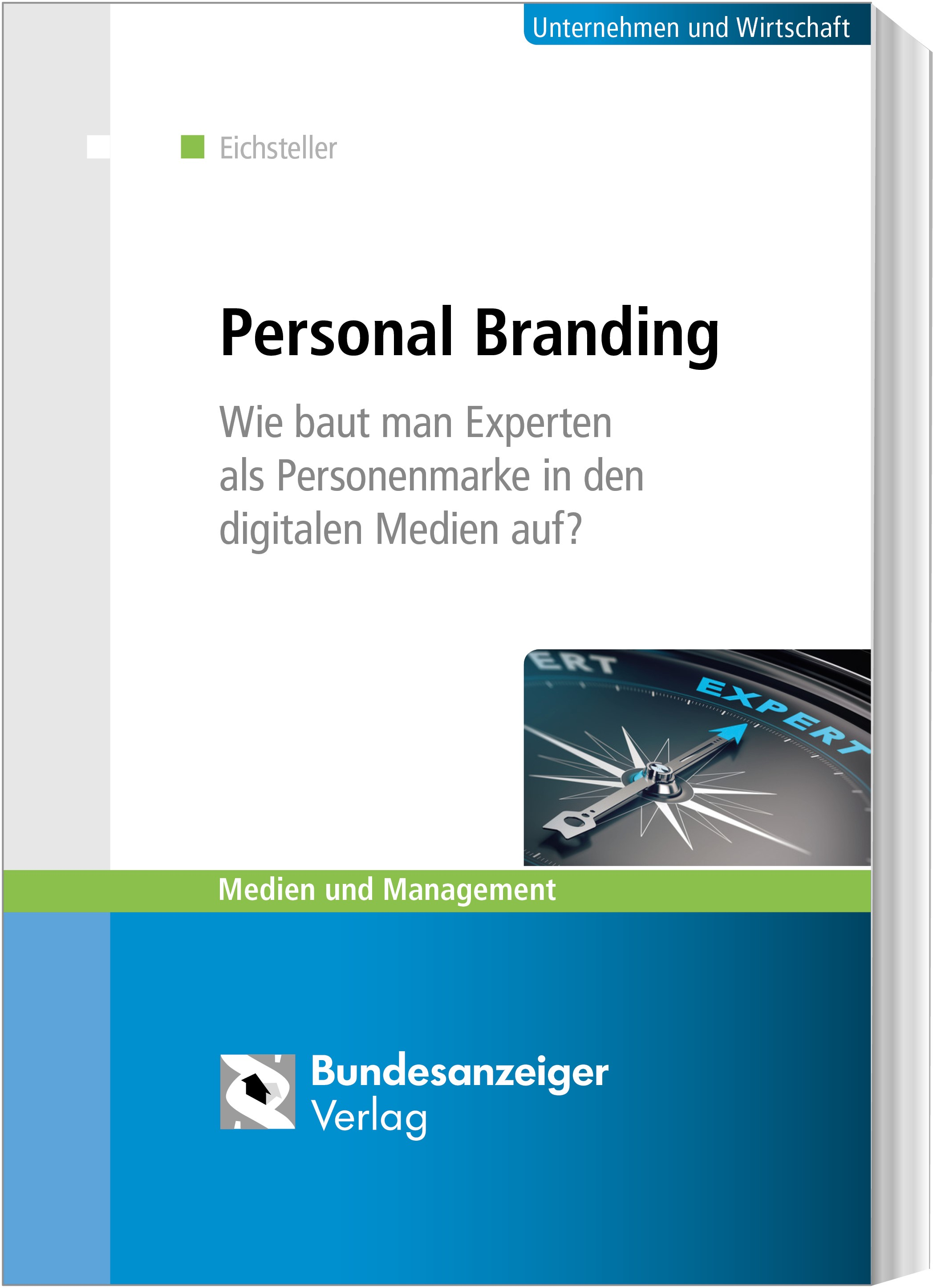Personal Branding | Eichsteller, 2018 | Buch (Cover)
