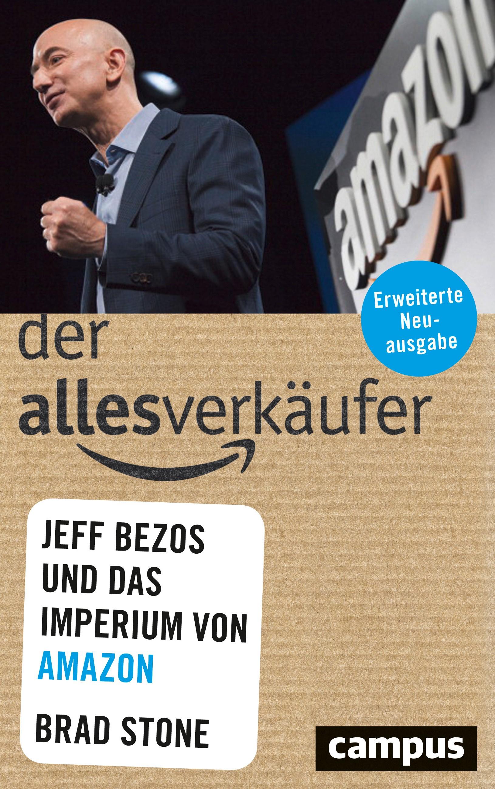 Der Allesverkäufer | Stone | 2. aktualisierte Auflage, 2018 | Buch (Cover)