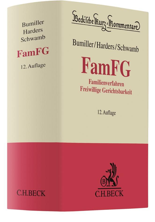 Freiwillige Gerichtsbarkeit (FamFG) | Bumiller / Harders / Schwamb | 12. Auflage, 2019 | Buch (Cover)