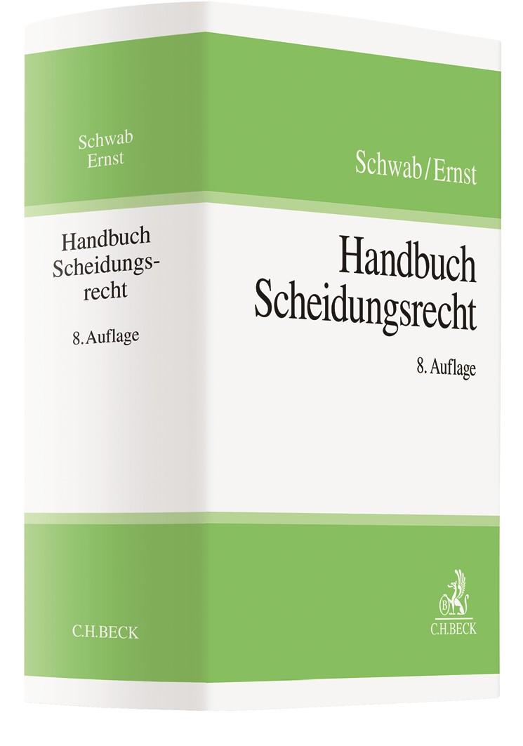 Handbuch Scheidungsrecht | Schwab / Ernst | 8. Auflage, 2019 | Buch (Cover)