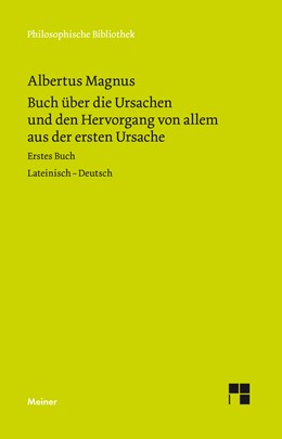 Abbildung von Albertus Magnus / Möhle | Buch über die Ursachen und den Hervorgang von allem aus der ersten Ursache | 2018 | Liber primus | 580