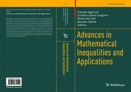 Abbildung von Agarwal / Dragomir | Advances in Mathematical Inequalities and Applications | 1. Auflage | 2019 | beck-shop.de