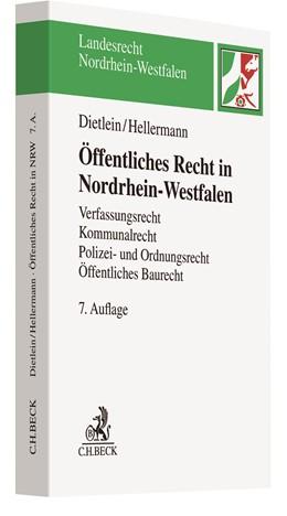 Abbildung von Dietlein / Hellermann   Öffentliches Recht in Nordrhein-Westfalen   7. Auflage   2019   Verfassungsrecht, Kommunalrech...