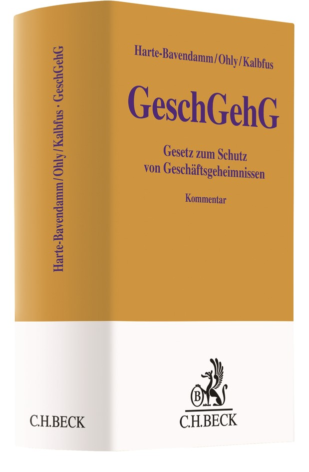 GeschGehG | Harte-Bavendamm / Ohly / Kalbfus, 2019 | Buch (Cover)
