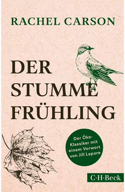 Cover: Rachel Carson, Der stumme Frühling