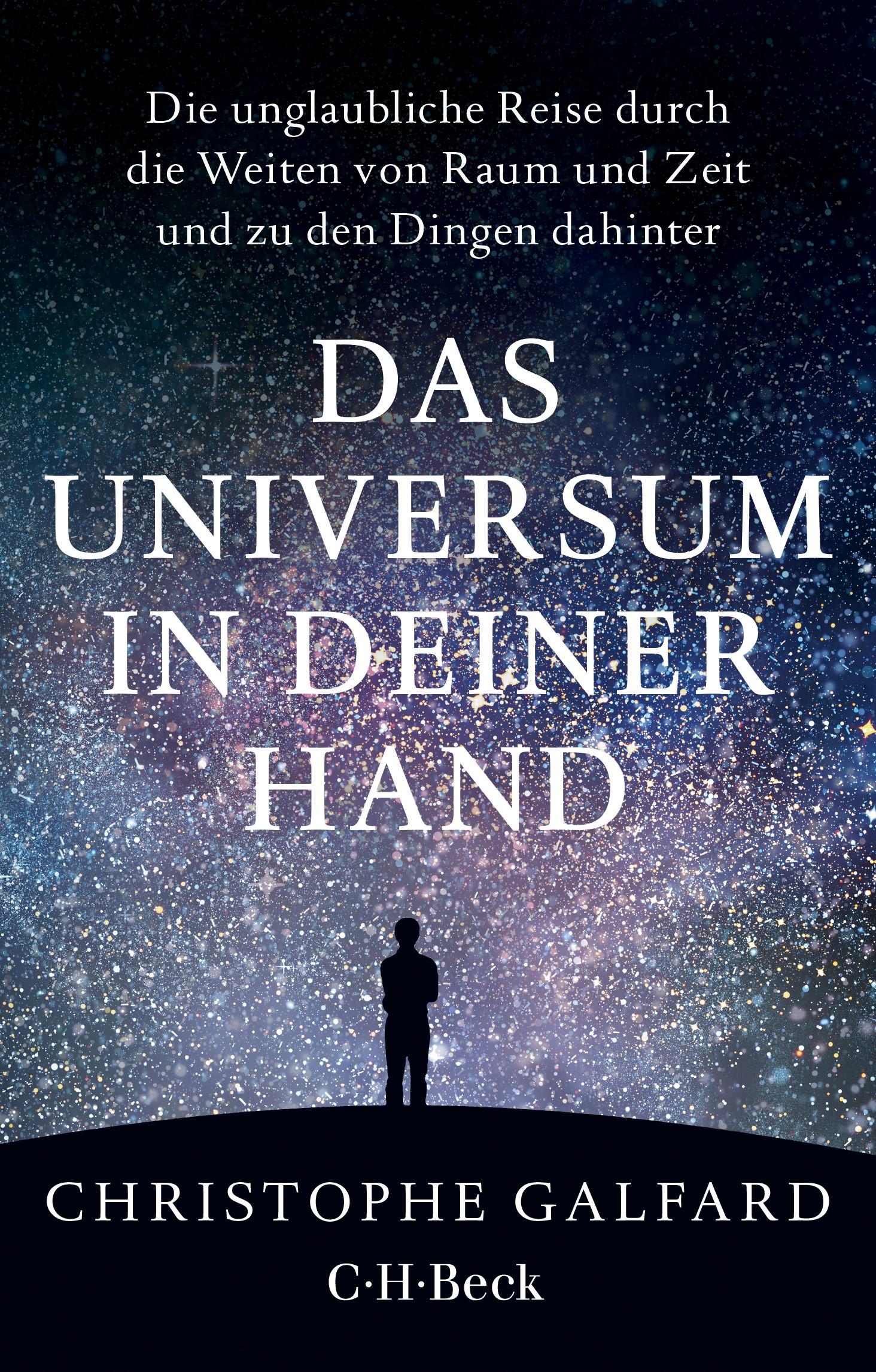 Das Universum in deiner Hand   Galfard, Christophe, 2019   Buch (Cover)