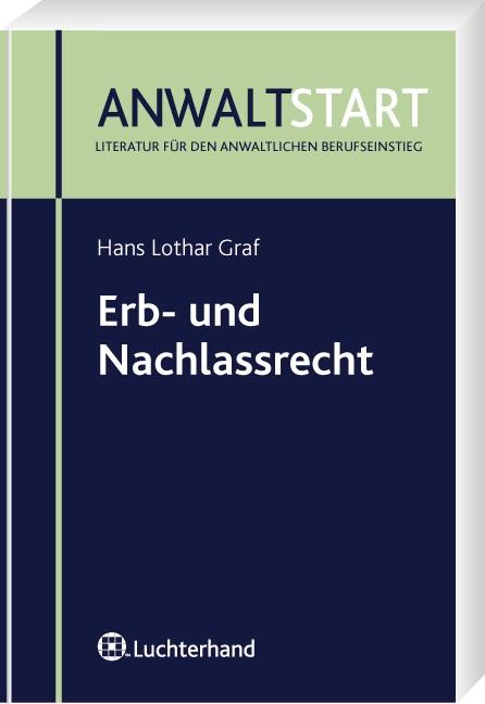 Erb- und Nachlassrecht | Graf, 2008 | Buch (Cover)