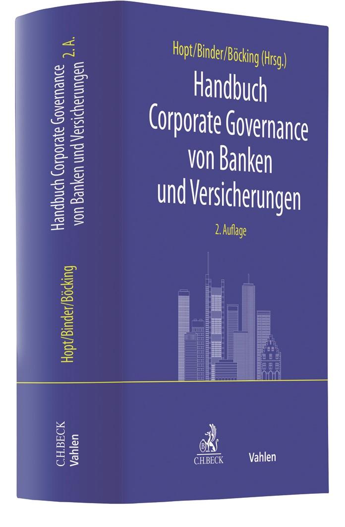 Handbuch Corporate Governance von Banken und Versicherungen | Hopt / Binder / Böcking (Hrsg.) | 2. Auflage, 2019 | Buch (Cover)