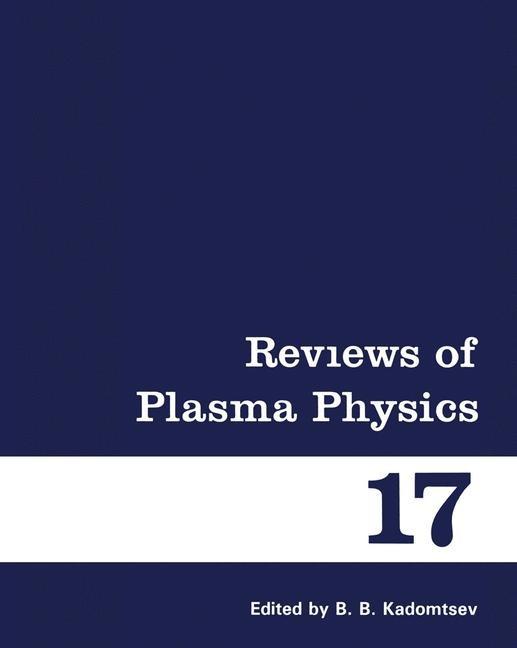 Reviews of Plasma Physics | Kadomtsev | 1992, 1993 | Buch (Cover)