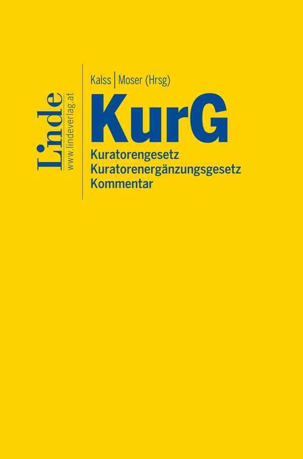 Kuratorengesetz | Kalss / Moser | 1. Auflage 2018, 2018 | Buch (Cover)